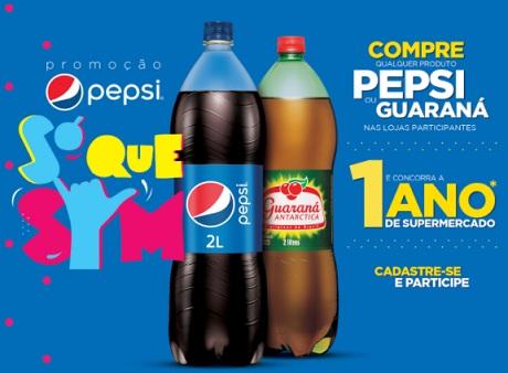 Promoção Pepsi Só Que Sim