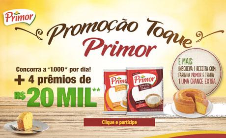 Promoção Toque Primor
