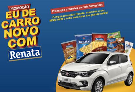 Promoção Eu de Carro Novo com Renata