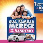 Promoção Sua Família Merece Sanremo