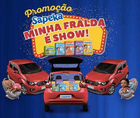 Promoção Sapeka Minha Fralda É Show