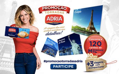 Promoção Torradas Adria A viagem dos seus sonhos acontece nos det<br><br><a href='myverde.asp' style=