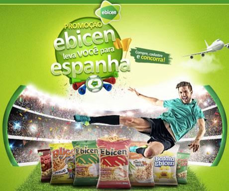 Promoção Ebicen Leva Voce? Para Espanha