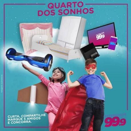 Promoção Estereosom FM Quarto dos Sonhos
