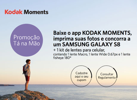 Promoção Tá na Mão Kodak Moments