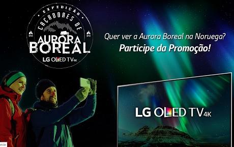 Promoção LG Caçadores de Aurora Boreal