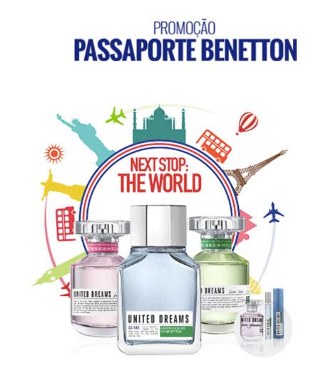 Promoção Renner Passaporte Benetton