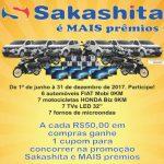 Promoção Sakashita É Mais Prêmios