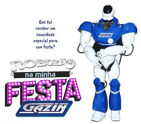 Promoção Gazin Robozão Na Minha Festa