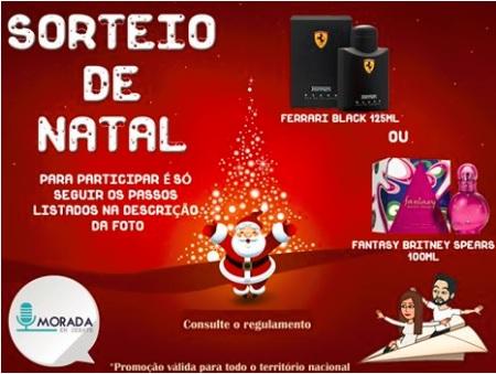 Promoção Sorteio de Natal Morada em Debate
