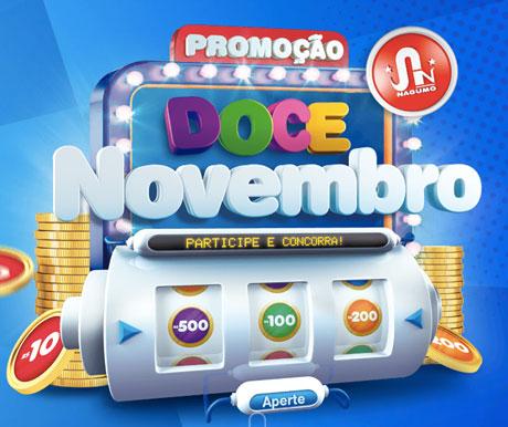 Promoção Supermercados Nagumo Doce Novembro