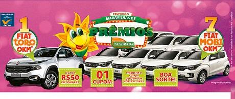 Promoção Supermercado Alvorada Maravilhas de Prêmios