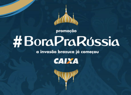 Promoção Caixa Bora Pra Russia