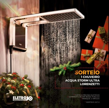 Promoção Sorteio Chuveiro Acqua Storm Ultra Lorenzetti