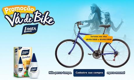 Promoção Vá de Bike Linea