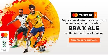 Promoção Masterpass Partiu Berlim com a Seleção