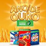 Promoção Ano de Ouro Cereais Matinais Nestlé