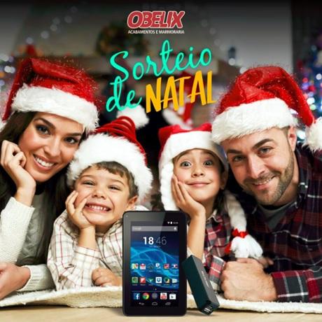 Promoção Obelix Sorteio de Natal