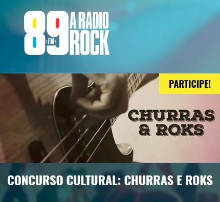 Promoção Rádio 89 FM Churras & Roks