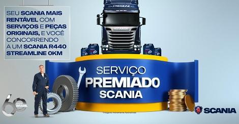 Promoção Serviço Premiado Scania