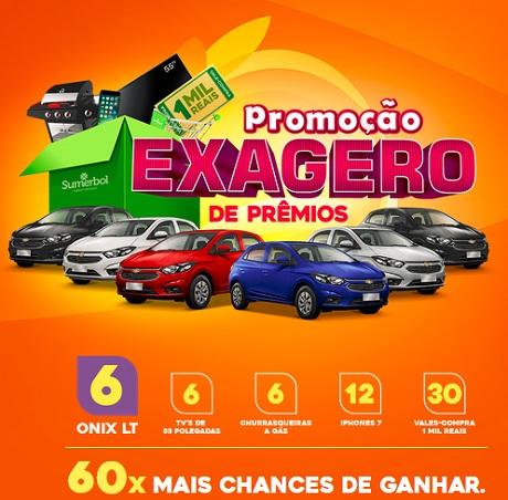 Promoção Sumerbol Supermercados Exagero De Prêmios