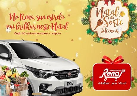 Promoção Natal Da Sorte Rena