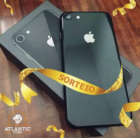 Promoção Atlantic Store Sorteio Iphone 8 de 64GB