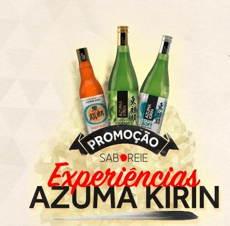 Promoção Experiências Azuma Kirin