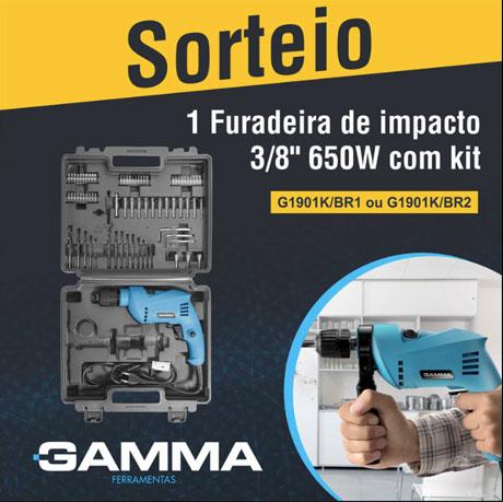 Promoção Sorteio Gamma Ferramentas