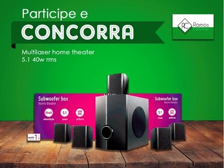 Promoção Ramos Cartuchos Sorteio de um Home Theater