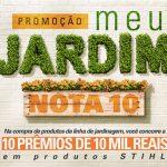Promoção Meu Jardim Nota 10