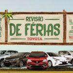 Promoção Revisão de Férias Toyota