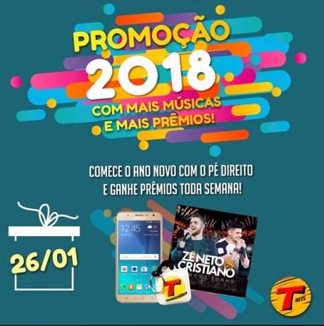 Promoção Transamérica FM 2018 com Mais Músicas e Mais Prêmios