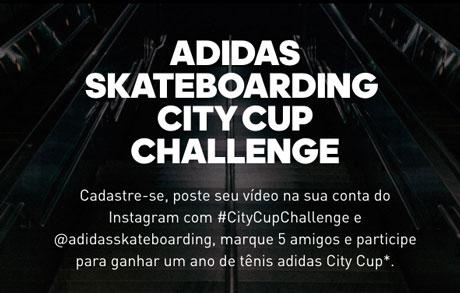 Promoção Adidas SkateboardingCity Cup Challenge