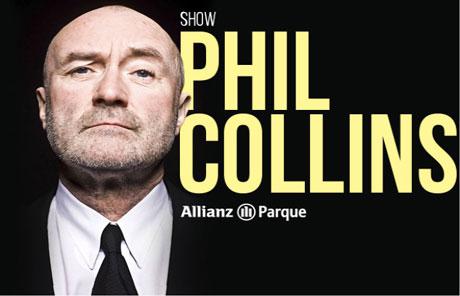 Promoção Antena 1 Phil Collins ao vivo em São Paulo