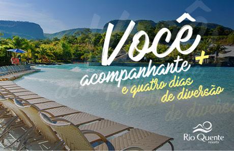 Concurso Cultural Antena 1 Sua Família no Rio Quente Resorts