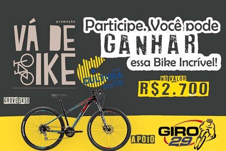 Promoção Cultura FM e Giro 29 Vá de Bike