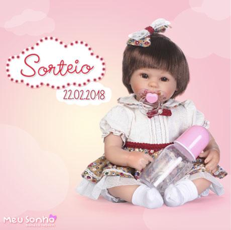 Promoção Meu Sonho Boneca Reborn