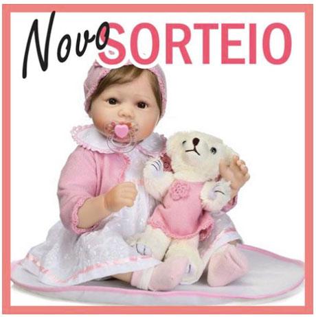 Promoção Sorteio de uma Boneca Bebê Reborn
