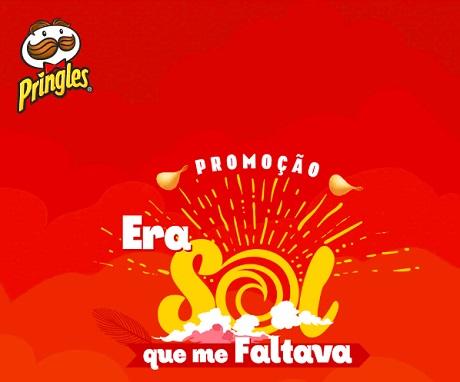Promoção Pringles Era Sol Que Me Faltava