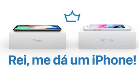 Promoção Rei me dá um iPhone
