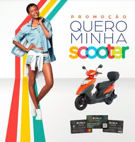 Promoção Riachuelo Quero Minha Scooter