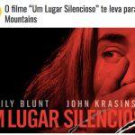 Promoção O filme Um Lugar Silencioso te leva para a Rocky Mountains