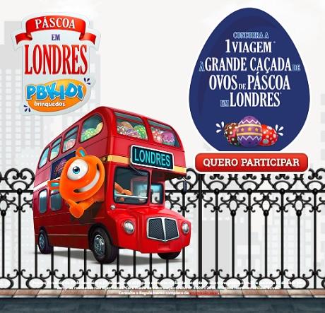 Promoção PBKids Páscoa em Londres