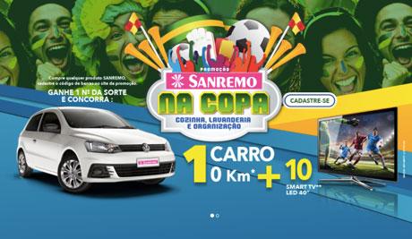 Promoção Sanremo na Copa, Cozinha, Lavanderia e Organização