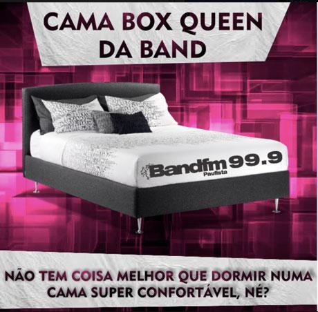 Promoção Cama Box Queen da Band