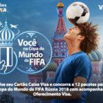 Promoção Caixa e Visa Você Na Copa do Mundo da FIFA