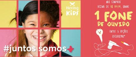 Promoção Hering Juntos somos +