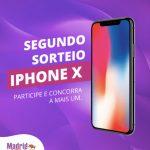 Promoção Madrid Center Concorra a Iphone X