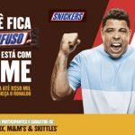 Promoção Snickers Ronaldo Confuso